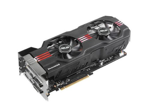 ASUS GTX680 DirectCU II TOP Edition 1201MHz 2 GB GDDR5 PCI Express 3.0 Graphics Cards GTX680-DC2T-2GD5 - Red/Black (Top Directcu)