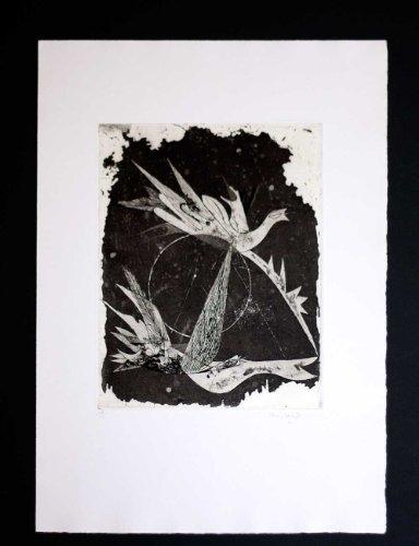modernnow.com Johnny Friedlaender (1912-1992) Original Limited Edition Color Etching, Hand Signed, 1948 | Cosmic Dance | LTD Edition | ART183;docs8482; Registered Documentation185;179;