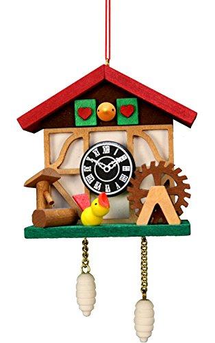 Alexander Taron Importer 10-0568 - Christian Ulbricht Ornament - Cuckoo Clock Bird - 4.5
