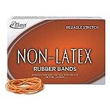 Alliance Non-Latex Rubber Bands Sz. 19 Orange 3-1/2 x 1/16 1750 Bands/1lb Box