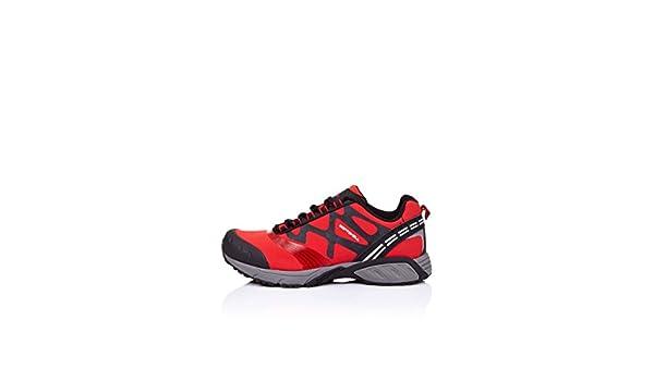 Praylas Zapatillas Trekking Herrerillo Rojo/Negro EU 41: Amazon.es: Zapatos y complementos