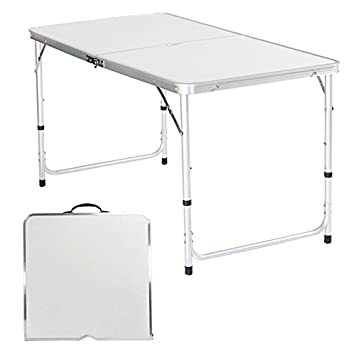 de Table de Table Jardin Pliante Table Coorun Table Camping 2WDEH9IY