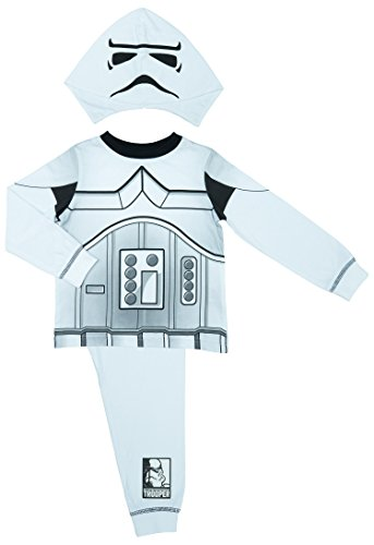 Stormtroopers Outfit (Star Wars Boys Stormtrooper Pyjamas - Age 2-8 Years - 3-4 Years / up to 104 cm)