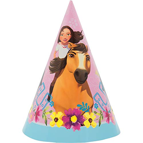 Unique Industries Spirit Riding Free Party Hat (8) ()
