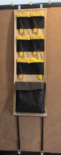 Cannon Door Panel Organizer Pistol Kit Gun Safe Vault Storage Solution Accessories