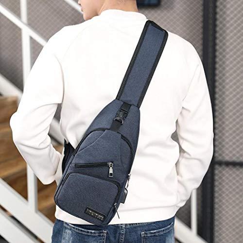 hombre Bolso Coocle Azul para al hombro IrrdxaA