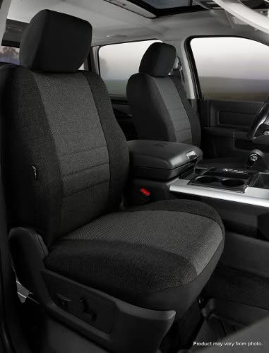 Gray FIA OE34 GRAY Universal Fit Truck Bench Seat Cover
