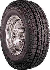 Cooper Discoverer M+S Winter Radial Tire - 275/70R18 125R (Best Winter Tires For F350)
