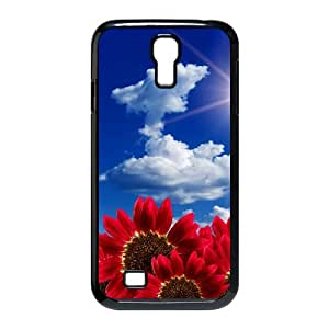 SamSung Galaxy S4 I9500 2D Custom Phone Back Case with sunflower Image