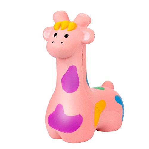 Kawaii Jumbo 20cm Squishie Super Big Giraff Slow Rising Cream Squeeze Scented Cure Toys Gift for Kids and Adults- Waymine by Waymine Toy (Image #4)
