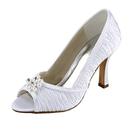 femme Fashion mariée Chaussure Kevin Ivoire de fashion 4RBSqw