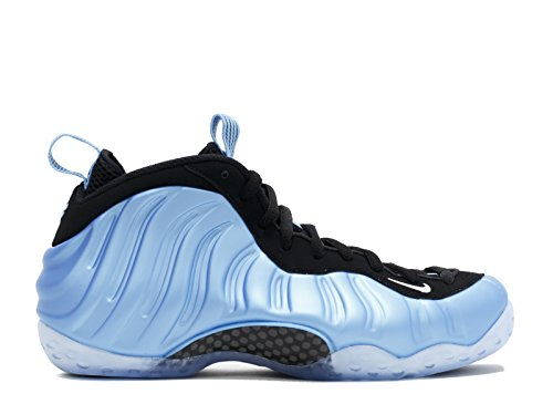 Nike Mens Air Foamposite One Basketball Shoe University Blu, Bianco-nero