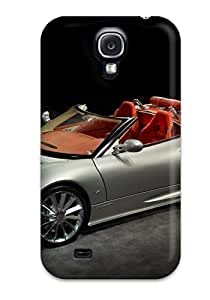 Galaxy S4 Case Slim [ultra Fit] Desktop Backgrounds Motors Cars Spyker Protective Case Cover by lolosakes