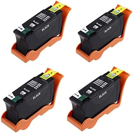 4//PK 330-5285/_4PK Series 24 SuppliesMAX Compatible Replacement for Dell P713W//V715W Black High Yield Inkjet