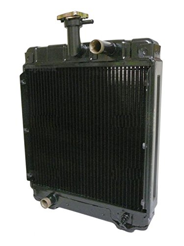 New Tractor Radiator (1990-0010-000 New Radiator made for Satoh Mitsubishi S650G Bison Compact Tractor)