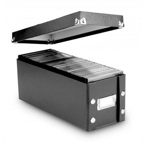 Snap-N-Store CD Storage Box, Set of 4