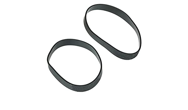 SPARES2GO Drive Belt for Bissell 3101 3101-E 3130 3130-E 3130-K EASY VAC Upright Vacuum Cleaner Pack of 2 Belts