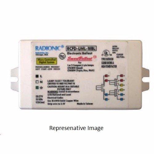 Radionic Hi-Tech Inc. 18-Watt Electronic Ballast for CFL Lamp - RCFD-UML-18