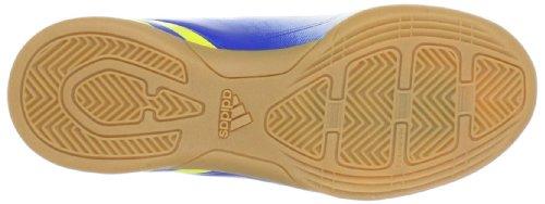adidas Performance Predito LZ IN J G64953 Jungen Fußballschuhe Weiß (RUNNING WHITE FTW / VIVID YELLOW S13 / PRIME BLUE S12)