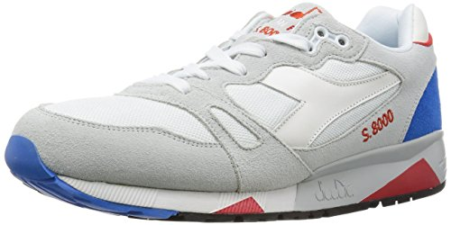 cheap sale clearance store clearance best store to get Diadora Men S8000 NYL - Made In Italy (white / micro blue) Blue;white USKlJQ2QP