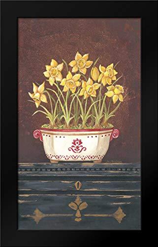 Asian Daphodile Floral Framed Art Print by Moulton, -