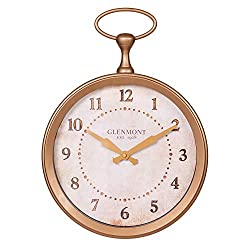 13 Glenmont Gold Pocket Watch Wall Clock