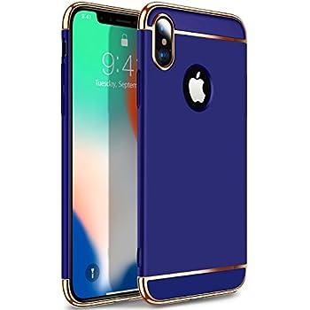 Amazon.com: VANMASS iPhone X Case, 3-in-1 Durable Phone