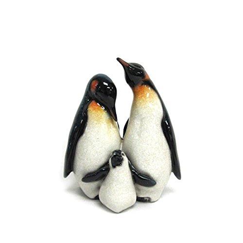 Antarctica Wildlife Emperor Penguins Happy Family Figurine Size Of An Emperor Penguin