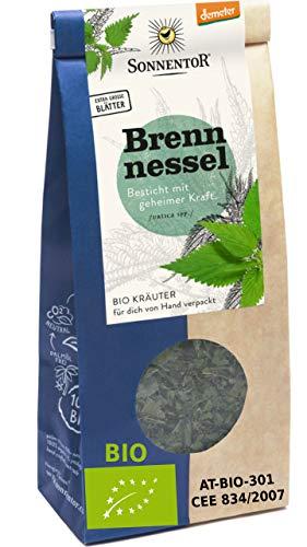 Tisana ortiga organico Urtica Dioica 50 g Produccion certificada | te de ortiga seco certificado organico calidad mayor sin rastro Pesticidas GMO - Ortiga picante organica