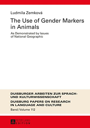 The Use of Gender Markers in Animals: As