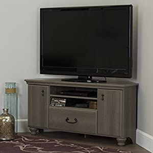 South Shore Noble Corner TV Stand - Fits TVs Up to 55'' Wide - Gray Maple - by