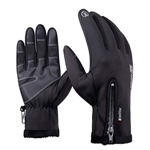 Thermal Skiing Gloves Winter Fleece Waterproof Ski Man Women Motorcycle Snow Snowboard wear H L