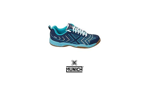 Munich Smash - Zapatillas Unisex Azul: Amazon.es: Deportes y aire ...