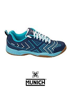 Munich Smash - Zapatillas Unisex Azul: Amazon.es: Deportes y ...