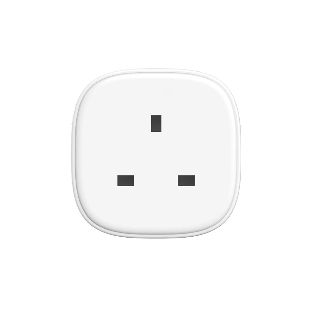 WiFi Smart Plug, Wireless Smart Socket Outlet Work with Alexa Google Assistant IFTTT Voice Control App Remote Control No Hub Required Timing Function 2.4Ghz Wi-Fi Socket MEROSS