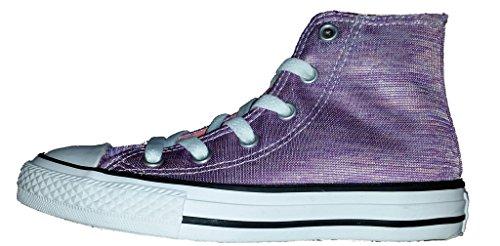 Textile Converse Trainers Violet All white Taylor sunblush Star Junior Ii Bright Shield Canvas Chuck White ZZwUqT8