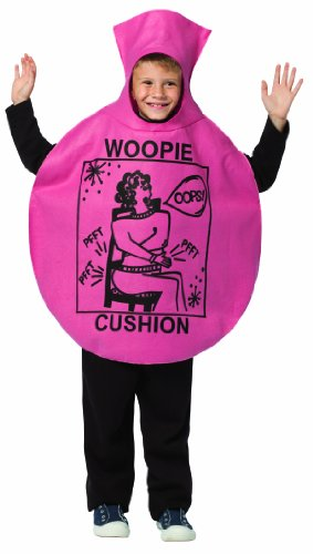 Number 9 Movie Costume (Rasta Imposta Woopie Cushion Children's Costume, 7-10, Pink)