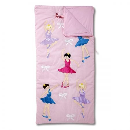 Lillian Vernon Ballerina's Personalized Kids' Sleeping Bag by Lillian Vernon
