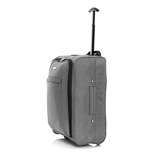 BL Twill Cabin Approved Trolley Bag, Grey