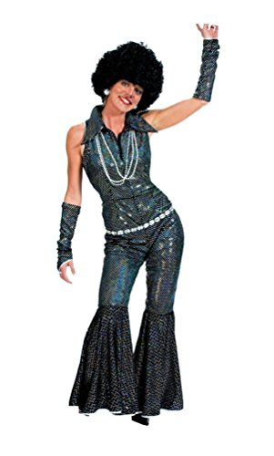 Boogie Queen Disco Costumes (Boogie Queen Adult Costume - Medium)
