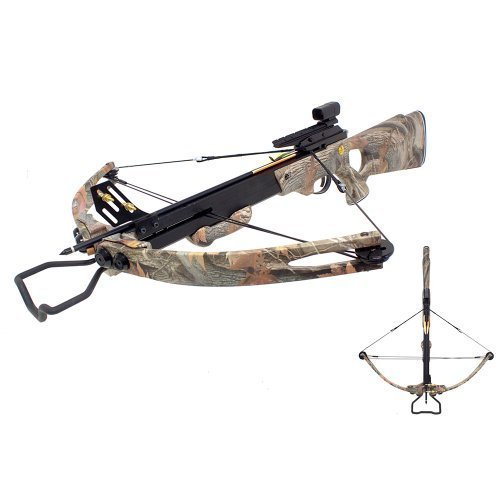 SAS 150 lbs Panther Compound Crossbow - Black (Camo) (Crossbow 180 Hunting Lb)