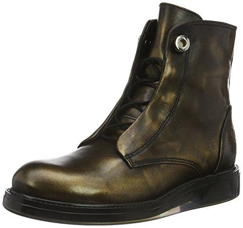 Bronx Enno, Zapatillas de Estar por Casa para Mujer, 36 EU Multicolor - Mehrfarbig (Dark Bronze 1770)