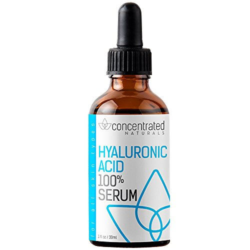 Pure Hyaluronic Acid Serum for Face | Physician Grade | May Help Smooth Appearance of Wrinkles, Brightens | May Improve the Appearance of Skin Tone for More Youthful-Looking Skin | 1 fl oz/30 ml