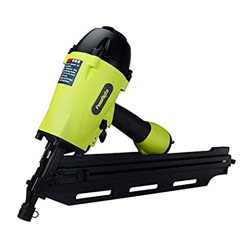 PowRyte Elite 28-Degree Clipped Head Air Framing Nailer - 2-inch to 3-1/2-Inch