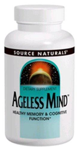 Ageless Mind Source Naturals, Inc. 180 Tabs