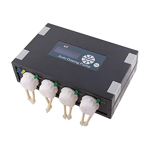 Sps Pump (MUJING Programmable Auto Dosing Pump DP-4 Coral Feeder in Pet Supplies)