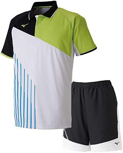 ゲームシャツ&ゲームパンツ上下セット(ホワイト/ブラックホワイト) 62JA9003-73-62JB9001-09