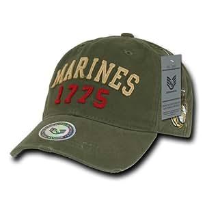 Rapiddominance Marines Vintage Athletic Cap, Olive