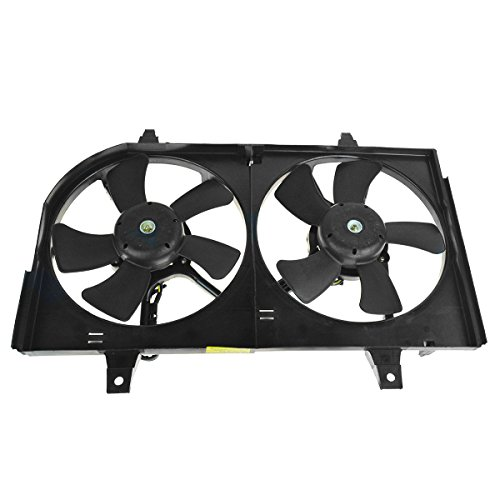 Radiator Dual Cooling Fan & Motor Assembly for Nissan Maxima Infiniti I35
