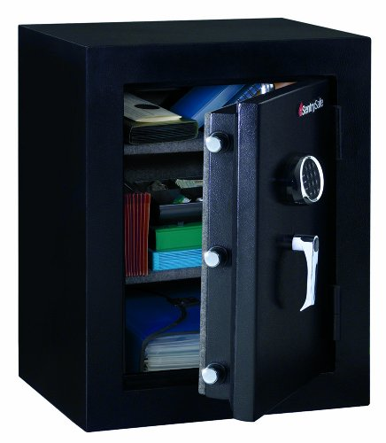 Sentry Safe Executive Fire-Safe, 3.4 ft3, 21-3/4w x 19d x 27-3/4h, Black, EA - SENEF3428E by SentrySafe